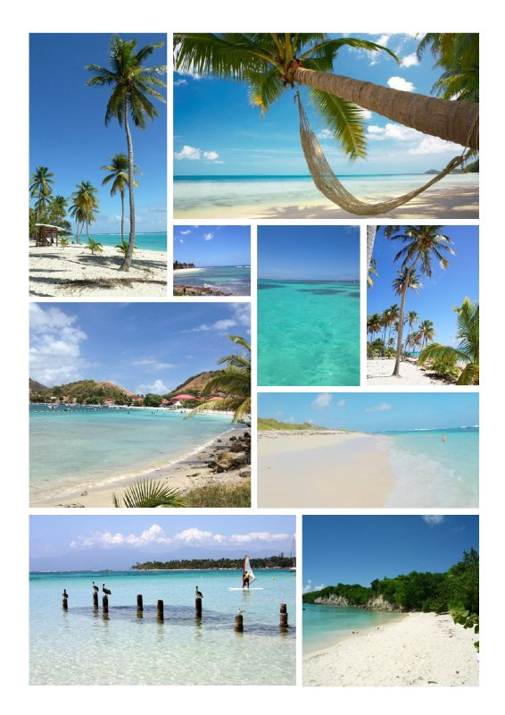 Plages Guadeloupe
