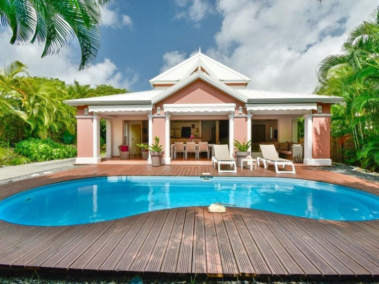 Location villa Cotton 6 personnes en Guadeloupe – Saint François.