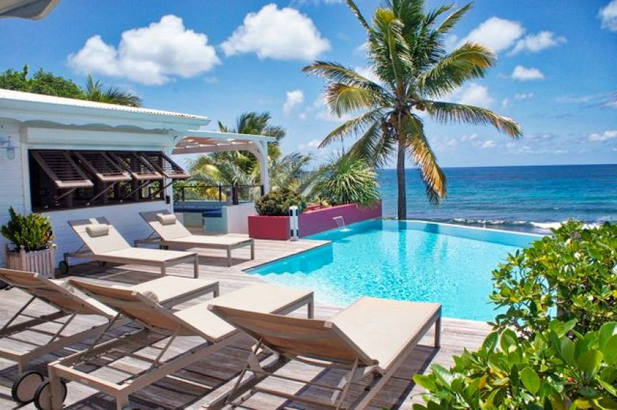 Location villa Sea Side 6 personnes en Guadeloupe – Saint François.